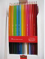 Цветные карандаши Acmeliae, 36 цветов с точилкой, фото 1