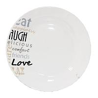 Тарелки керамические Tendence 6 шт 18 см диаметр
