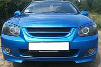 Тюнинг накладка переднего и заднего бамперов Kia Cerato