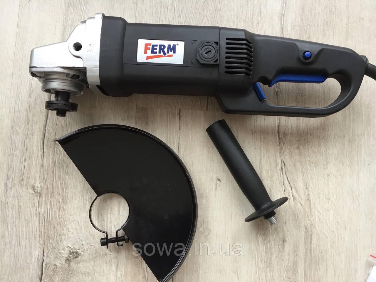 ✔️ Болгарка FERM FAG-230   2000 Вт