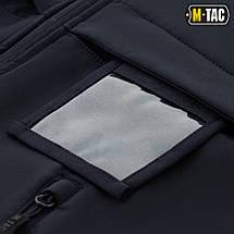 M-TAC КУРТКА SOFT SHELL POLICE NAVY BLUE, фото 2