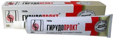 ДБ ГирудоПРОКТ гель при зуде и болезненности вокруг заднего прохода Биокон 50г