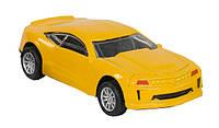 Модель металлическая инерционная желтая R198747