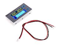 Универсальный индикатор емкости 10-100В с ЖК дисплеем