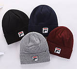 Шапка Fila для дорослих і підлітків шапки філа, фото 2
