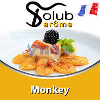 Ароматизатор Solub Arome - Monkey (Бананы фламбе), 10 мл., фото 2