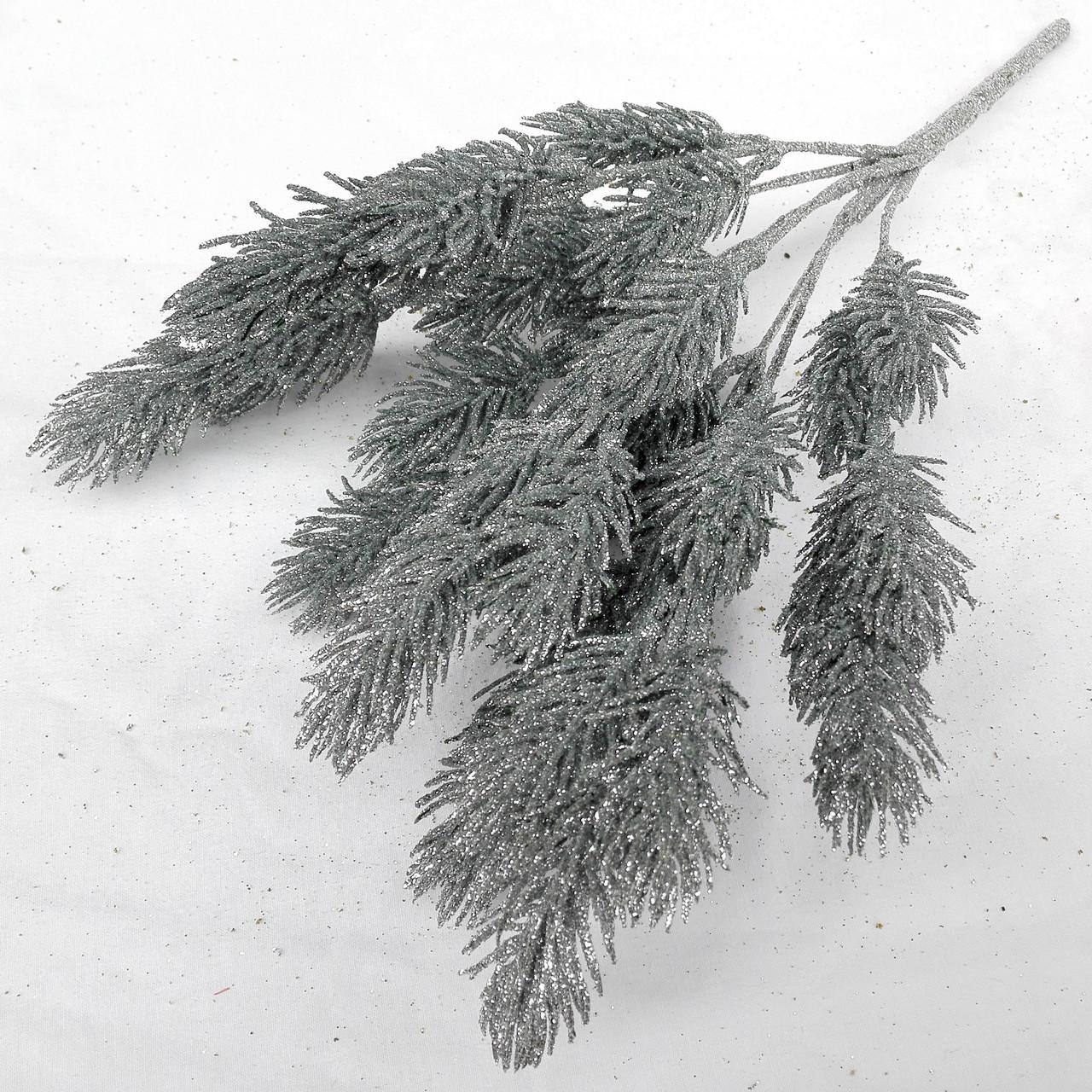 Куст хвойный  серебро 35 см