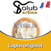 Ароматизатор Solub Arome - Lapin original (Багатошаровий смак печива, вершків, кориці і ...), 10 мл, фото 2