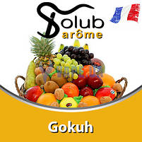 Ароматизатор Solub Arome - Gokuh (Смесь свежести экзотических фруктов и цитрусов с добавлением сахара), 10 мл., фото 2