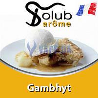 Ароматизатор Solub Arome - Gambhyt (Яблучний пиріг з ванільним пломбіром і вершками), 10 мл, фото 2