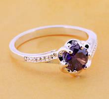 Кольцо женское с камнем колечко