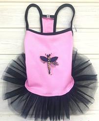 Платье для собак розовое