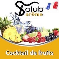 Ароматизатор Solub Arome - Cocktail de fruits (Фруктовый коктейль ), 10 мл., фото 2