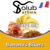 Ароматизатор Solub Arome - Banana's Bikers (М'який смак тютюну з бананом), 10 мл, фото 2
