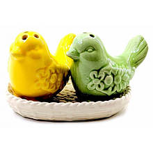 Набор солонка с перечницей Птицы
