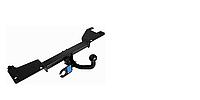 Фаркоп на Мерседес Бенс Спринтер, Mercedes-Benz Sprinter L=3660/4350, без гидроборта бортовой 2006--