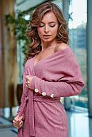 Гламурное платье с запахом (3 цвета, S, M, L, XL)