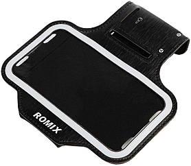 Чехол на руку Romix RH07 Touch Screen Armband Case 4.7 Black