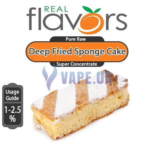 Real Flavors - Deep Fried Sponge Cake (Підсмажений бісквіт)