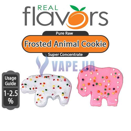 Real Flavors - Frosted Animal Cookie (Глазированное печенье)