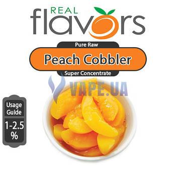 Real Flavors - Peach Cobbler (Персиковый коблер)