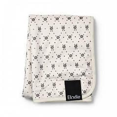 Детский плед Pearl Velvet Blanket, цвет Monogram (Elodie Details)