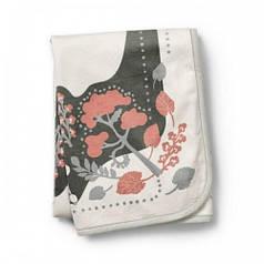 Детский плед Pearl Velvet Blanket, цвет Rebel Poodle Vanilla White (Elodie Details)