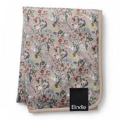 Детский плед Pearl Velvet Blanket, цвет Vintage Flower (Elodie Details)