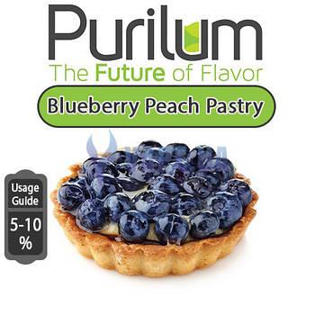 Ароматизатор Purilum - Blueberry Peach Pastry (Пирожное с черникой)
