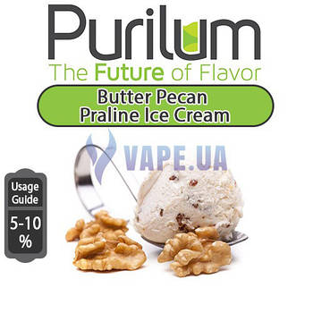 Ароматизатор Purilum - Butter Pecan Praline Ice Cream (Мороженное с орехом Пекан)