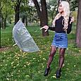 Зонт White белый (прозрачный), фото 3