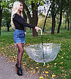 Зонт White белый (прозрачный), фото 6