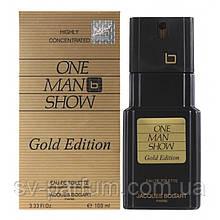 Туалетная вода мужская Jacgues Bogart One Man Show Gold Edition 100ml