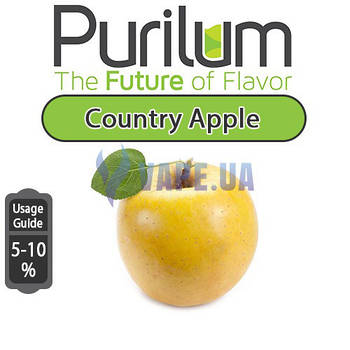 Ароматизатор Purilum - Country Apple (Спелое жёлтое яблоко)