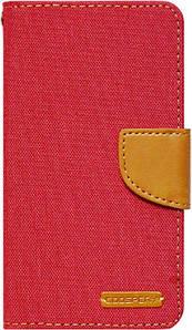 Чехол-книжка Goospery Canvas Diary Universal 4.5'-5.0' Red