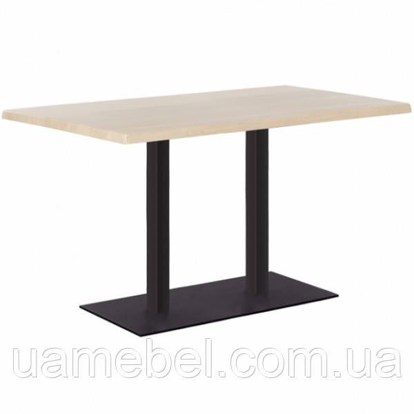 Обеденный стол Tetra (Тетра) duo black/alu