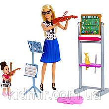 Лялька Барбі Вчитель музики Barbie Music Teacher FXP18