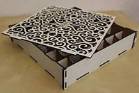 Коробки из фанеры и дерева разные цвета и формы l