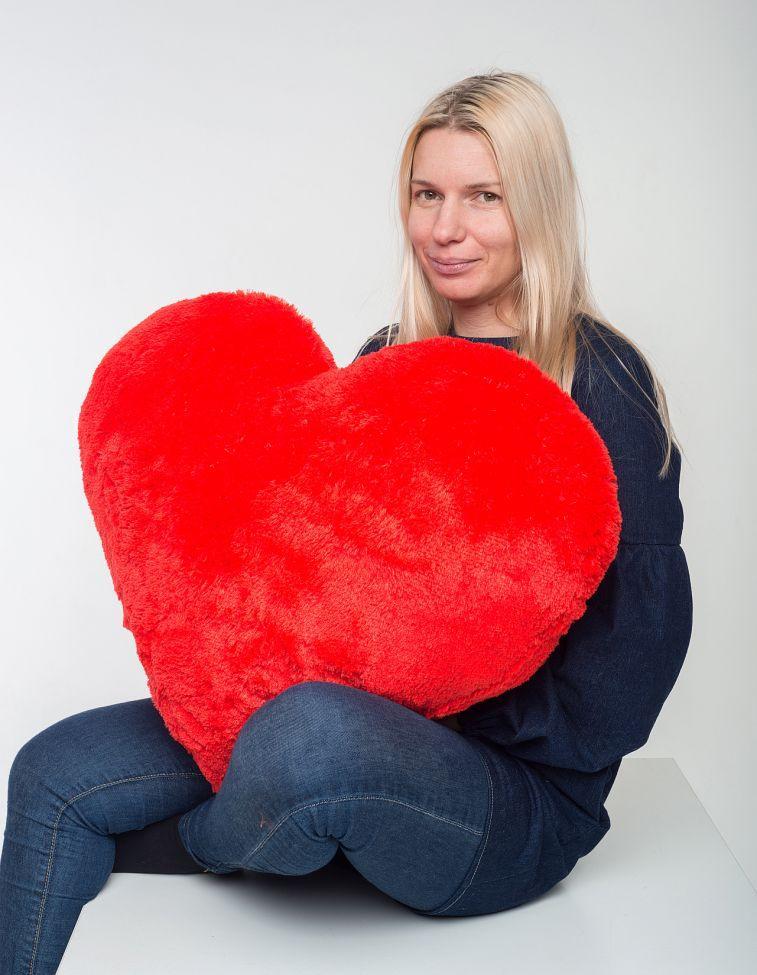 Игрушка подушка-сердце 100 см