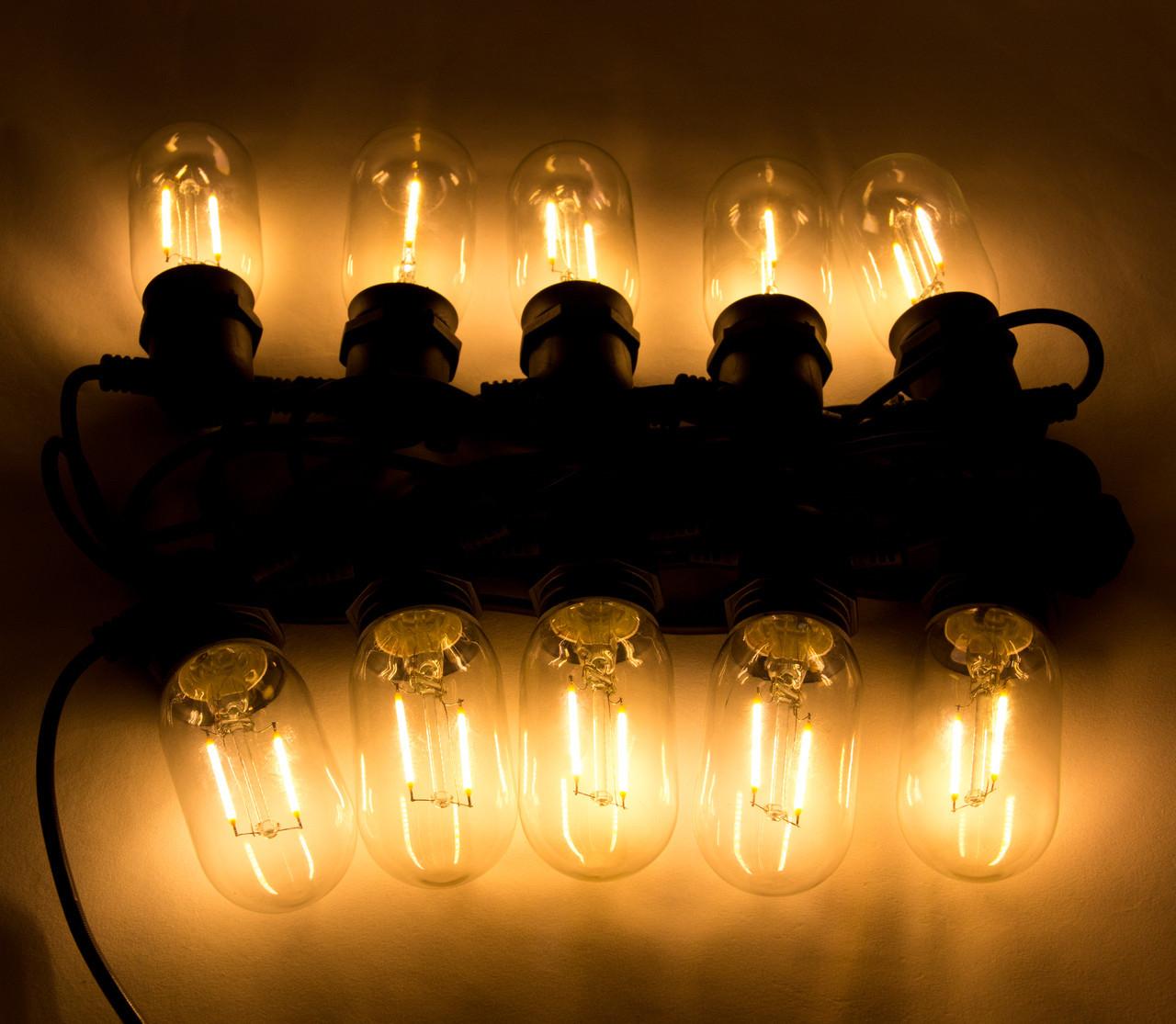 Светодиодная гирлянда 10 ламп с одной нитью (930066)