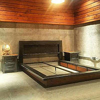 Кровать в стиле LOFT (NS-963247451)