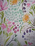 Рулонные шторы Акварель розовый, фото 2