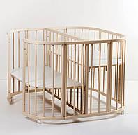 Детская кроватка для двойни Twins 110х110 см