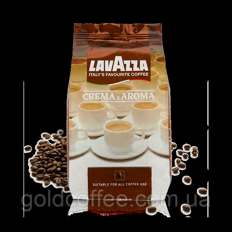 Кава в зернах Lavazza Crema e Aroma 1 кг (опт і роздріб)