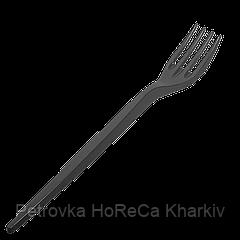 """Вилка черная Super """"Швидкоff"""" 16см. (100шт/40уп/4000ящ)"""