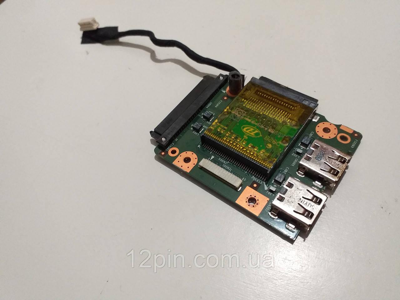 Плата USB  Packard Bell Ll1 б.у. оригинал