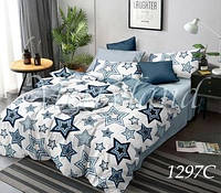 Комплект постельного белья с компаньоном Звезды Merryland поплин Евростандарт 1297С