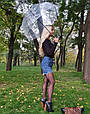 Зонт Black чёрный (прозрачный), фото 8