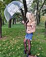 Зонт Black чёрный (прозрачный), фото 3