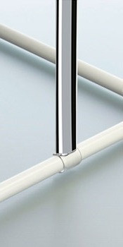 Потолочный держатель для карниза Spirella 28497 (32146) Хром